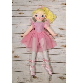 """Ganz You and Me 35"""" Ballerina Doll"""