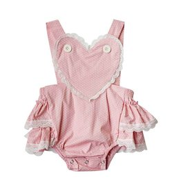 Baileys Blossoms Little Love Retro Ruffle Romper