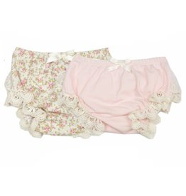 Haute Baby Sweet Pea Diaper Cover - Floral