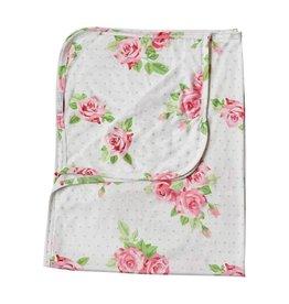 Baileys Blossoms Rose Swaddle Blanket