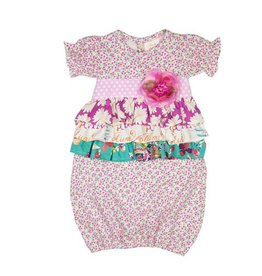 Haute Baby Spring Zing Gown 0/3M