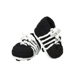 Jefferies Socks Black Crocheted Cleats