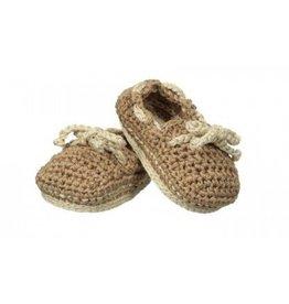 Jefferies Socks Khaki Crocheted Sperrys