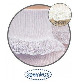 Jefferies Socks Lace Trimmed Sock