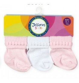 Assorted Pink and White Socks