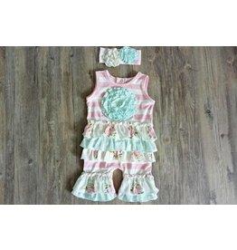 Serendipity Clothing Co English Rose Ruffle Shortall