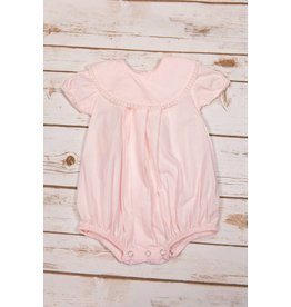 Sen Baby Light Pink Onesie with White Lace