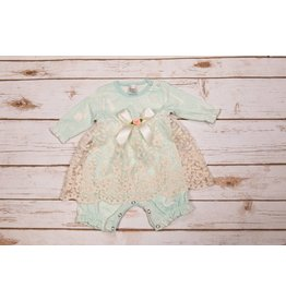 Tesa Babe Bunny Forrest Lace Skirted Romper