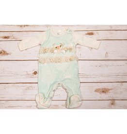 Tesa Babe Bunny Forrest Lace Footed Romper