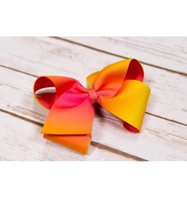 Wee Ones King Printed Summer Bow
