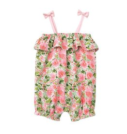 Mud Pie Floral Bubble Romper