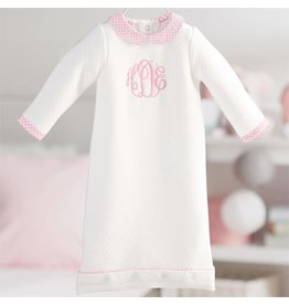 Mud Pie Monogram Me Quilted Gown