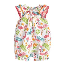 Mud Pie Flamingo Floral Bubble