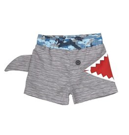 Mud Pie Shark Bite Swim Trunks