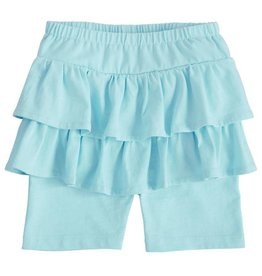 Mud Pie Blue Skirted Shorts