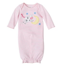 Mud Pie Cow Over the Moon Convertible Gown