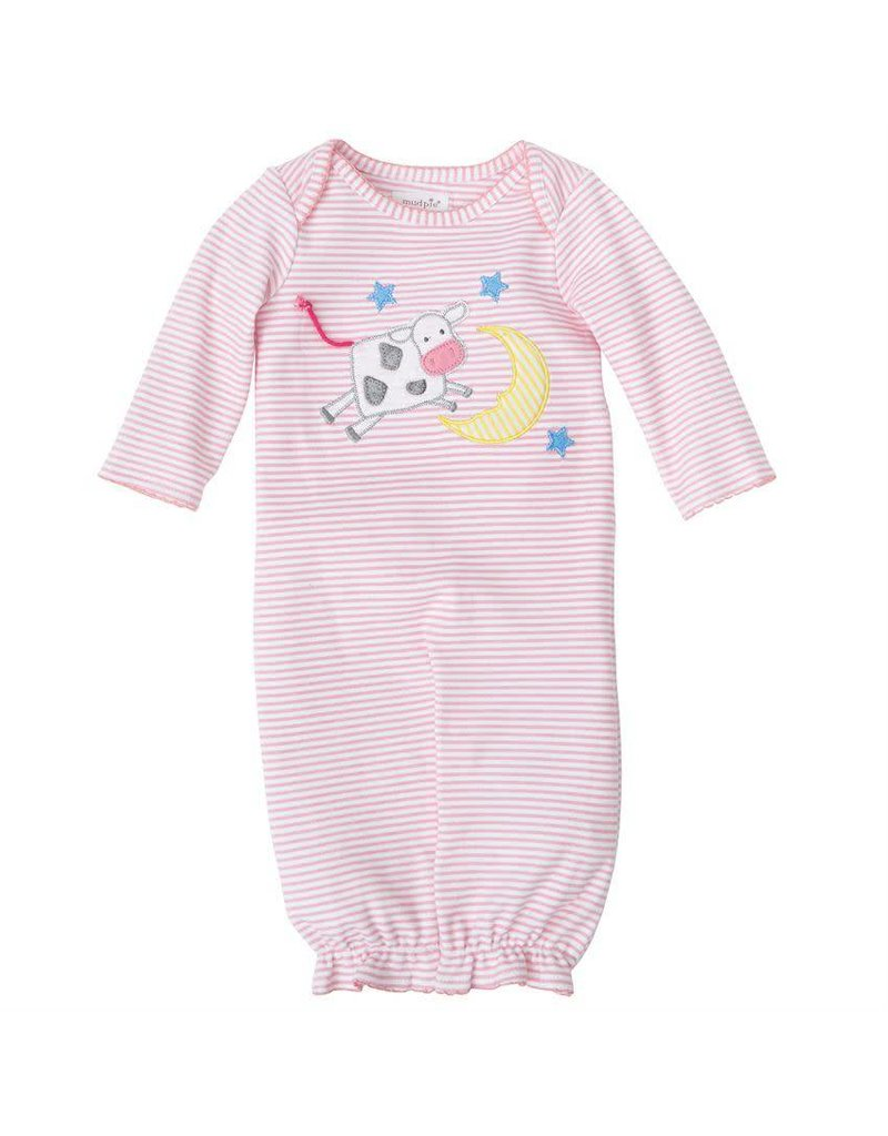 Mud Pie Cow Over The Moon Convertible Gown - Peek-a-Bootique