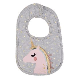 Mud Pie Unicorn Bib