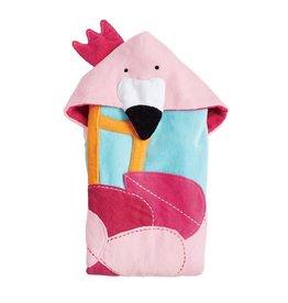 Mud Pie Flamingo Hooded Towel