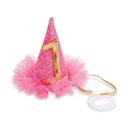 Mud Pie Neon Pink Birthday Hats