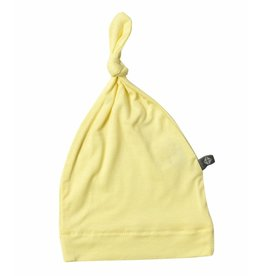 KYTE Bamboo Knotted Cap In Canola