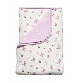 KYTE Flutter Printed Bamboo Blanket