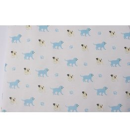 KYTE Puppy Printed Bamboo Blanket