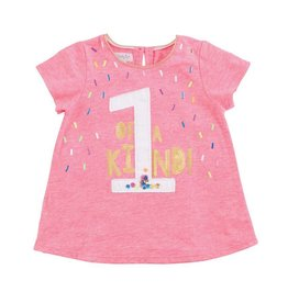 Mud Pie 1 of a Kind Birthday Shirt