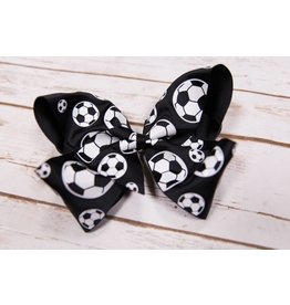 My Little Lady Bug King Soccer Bow