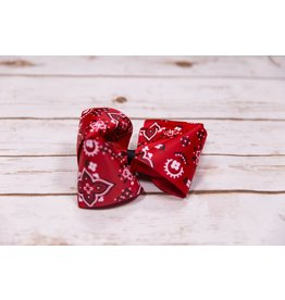 My Little Lady Bug King Red Bandanna Bow