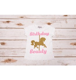 "Reflectionz ""Birthday Beauty"" Birthday Shirt"