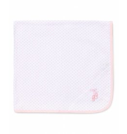 Little Me Pink Ballet Slippers Blanket