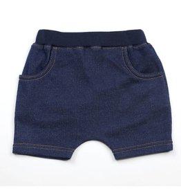 Kapital K Indigo Knit Denim Shorts