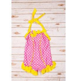 Muddy Feet Rebel Belle Pink Lemonade Swimsuit