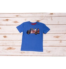 CR Sports Fishing Truck Applique Shirt