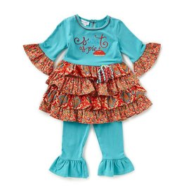 Bonnie Jean Sweet as Pie Tunic and Legging Set
