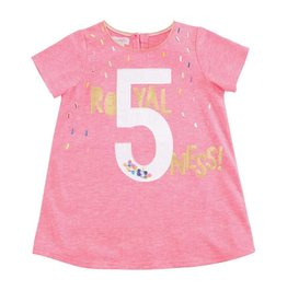 "Mud Pie Royal ""5""ness Birthday Shirt"
