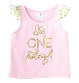 Mud Pie I'm One Today Birthday Top and Tutu Set