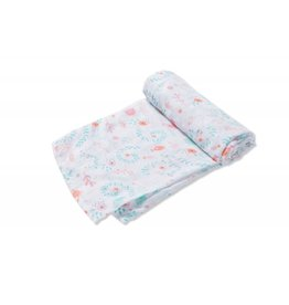 Angel Dear Jellyfish Bamboo Swaddle Blanket