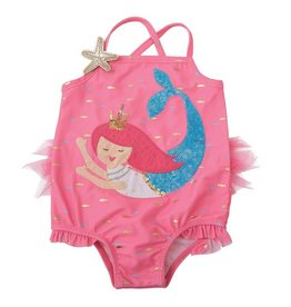 Mud Pie Mermaid One Piece Swim Suit