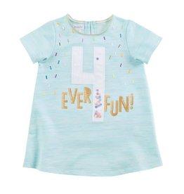 Mud Pie 4ever Fun Birthday Shirt