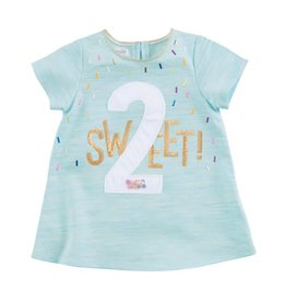 Mud Pie 2 Sweet Birthday Shirt