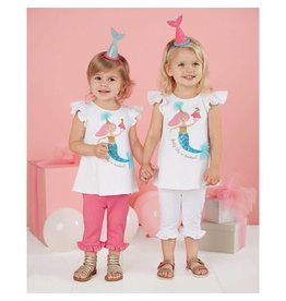 Mud Pie Party Like a Mermaid Birthday Tunic