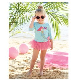 Mud Pie Mermaid Rash Guard Set