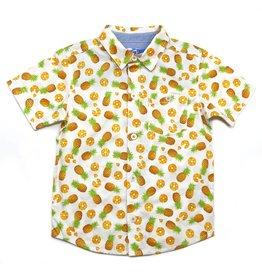 Kapital K Pineapple Button Down Shirt