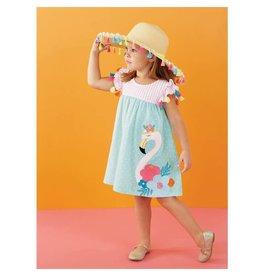 Mud Pie Flamingo Tassel Dress