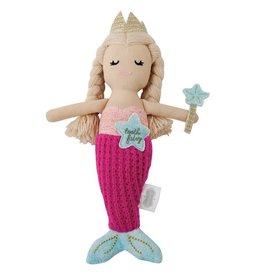 Mud Pie Mermaid Tooth Fairy Doll
