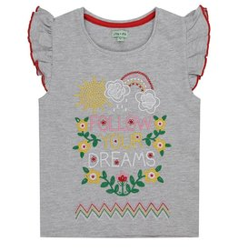 Lilly & Sid Follow Your Dreams Embroidery Shirt