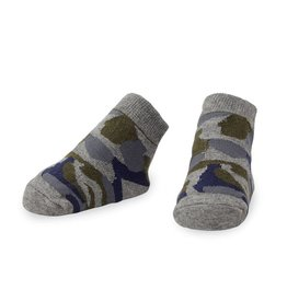 Mud Pie Blue and Green Camo Socks
