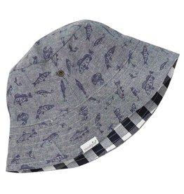 Mud Pie Fishing Reversible Hat